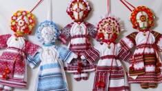 Тайна украинского оберега: авторские куклы-мотанки!