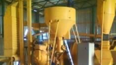 Линия гранулирования соломы от нашей компании: принцип работы