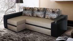Угловые диваны: особенности, преимущества, недостатки