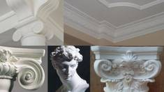 Old traditions in a new approach:gypsum moulding inthe interior