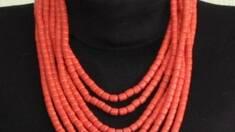 Керамічне намисто в етностилі