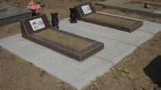 Необходимость установления противоусадочным плит на месте захоронения