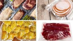 Вакуумна упаковка м`яса, ковбас, риби та сиру
