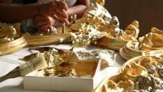 Какие инструменты необходимы для работы с сусальным золотом?