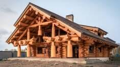 Строительство деревянных домов в диком стиле (дикий сруб)