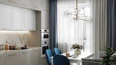 Тюль на кухню: идеи и стильные решения