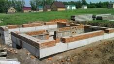 Переваги використання фундаментних залізобетонних блоків
