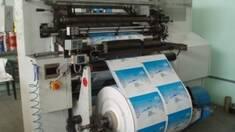 Принцип работы флексографической печати