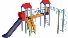 Переваги та недоліки дерев'яних, металевих та пластикових майданчиків для дітей