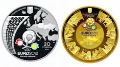 The National Bank issued coins for Euro 2012