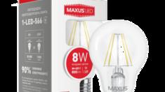 Новинка - энергосберегающие лампочки Максус!