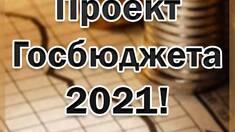 Проект Госбюджета на 2021 год!