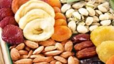 В ассортименте магазина появился новый товар - смесь орехов и сухофруктов