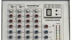 Акційна пропозиція! Мікшерний пульт SOUNDKING SKAS602D купуйте зі знижкою -25%!!!