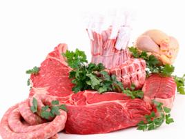 Мясо, сало, туши животных