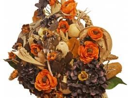Сухі квіти та композиції з них