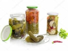 Солені овочі