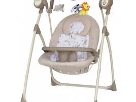 Дитячі крісла-гойдалки та шезлонги
