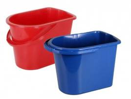 Відра та ємності для прибирання