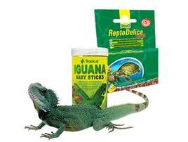 Корм для екзотичних тварин та рептилій