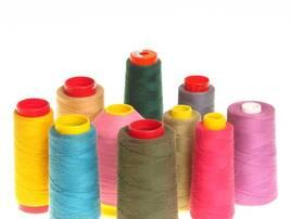 Нити текстильные