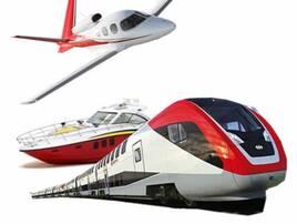 Авіа-, залізничний, водний транспорт