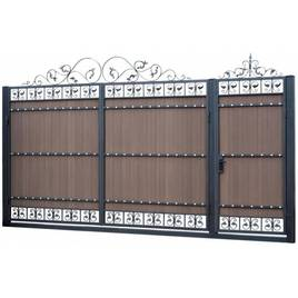 Ковані ворота, огорожі