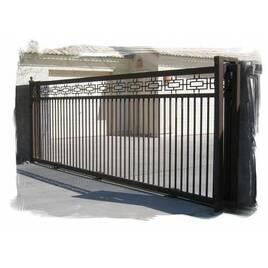 Ворота відкатні, зсувні