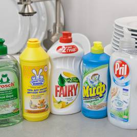 Миючі та чистячі засоби для кухні