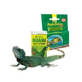Корм для экзотических животных и рептилий