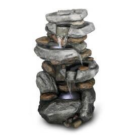 Фонтани з каменю