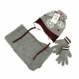 Комплекти шарф-шапка-рукавиці дитячі