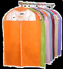 Чохли для зберігання одягу