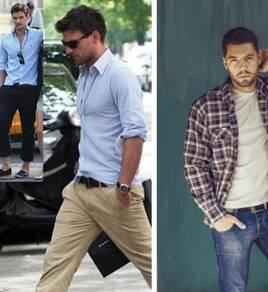 Різний чоловічий одяг