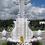 Комплекс из мрамора с фигурным крестом