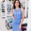 Женское платье 20775 синий