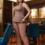 Женский костюм 20428 бежевый