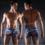 Плавки мужские купальные, трусы-боксеры для бассейна, пляжа (разноцвентый)