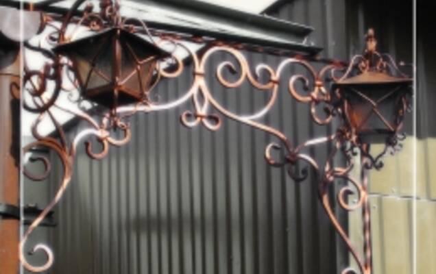 Художня ковка металу - неповторне мистецтво для заміського будинку ... 2d016d876a0b9