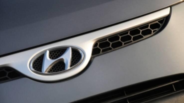 Hyundai gave Ukraine 38 cars to Euro-2012