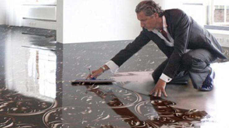 It's profitable! Buy a resin floor - get a free education!