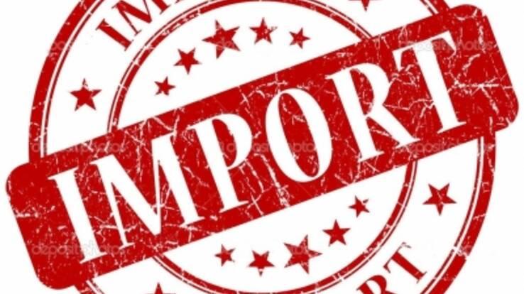 У першому кварталі імпорт товарів в Україну перевищив експорт
