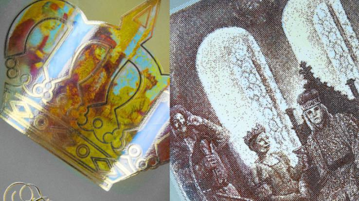 Декорування пляшок «Корона Вітовта» - інновація шовкотрафаретного друку.