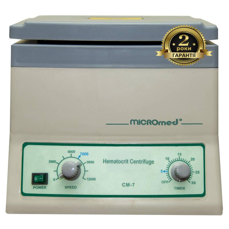 Центрифуга гематокритна СМ-7 MICROmed