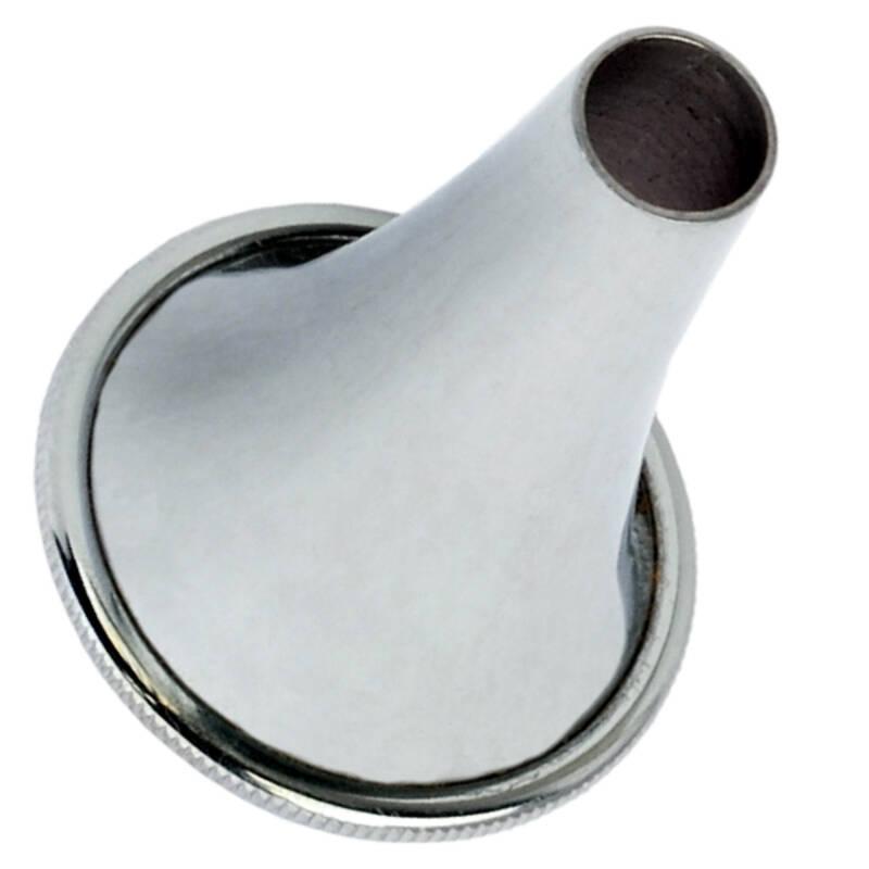 Лейка ушная по Hartmann, никелированная № 0 SURGIWELOMED, диаметр 3 мм.