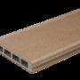 БрашованаТерасная дошка BERGDECK WPC 2400x150x250 колір Клен