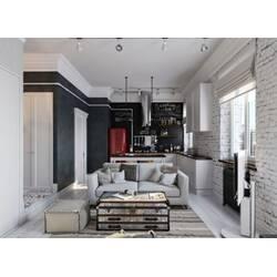 Мебель в стиле индастриал и лофт: особенности и преимущества