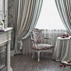 Портьерные ткани в стиле прованс, хай-тек, лофт: на чем лучше остановить свой выбор?