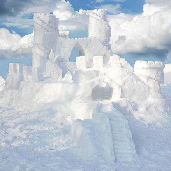 Снежные скульптуры Украина