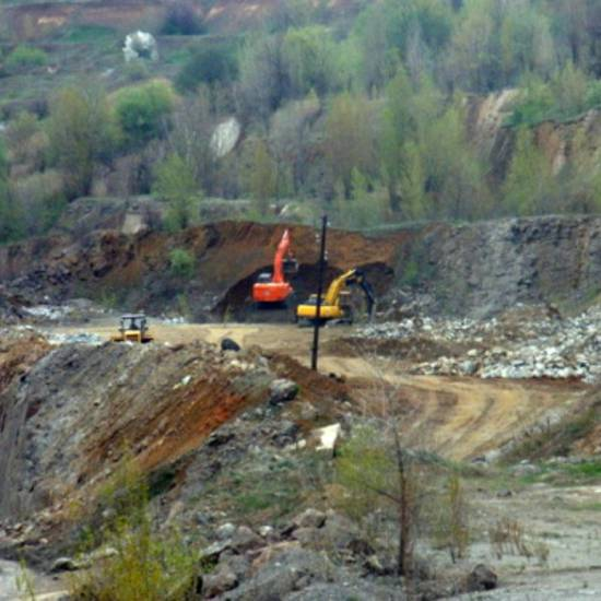 Graphite openpit mining - Zavalivskiy Grahite Ltd.